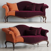 Baker King George settee