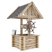 Wooden_Wishing_Well