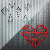Настенный декор Cristal и Iron Heart