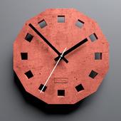 Настенные часы Brick