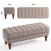 Martin Tufted Bench