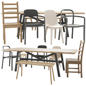 IKEA table and chair set 02