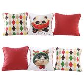 Набор подушек с принтами (Pillows Cute Animals 02 YOU)