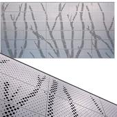 perforated metal panel N22