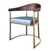 Rachele chair by Promemoria.