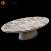 Van Rossum KOPS OVAL TABLE