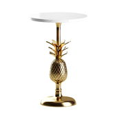 Pineapple Pedestal Side Table by Anthropologie