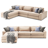 Bloor 3 Piece Sectional with Ottoman