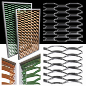 Expanded metal stainless (radial & arc)