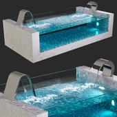 Pool, waterfalls: Niagara, Dolphin