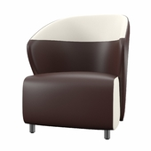 Nalle Reception Leather Guest Chair