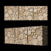Wooden gabion 6