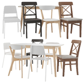 IKEA table and chair set 03