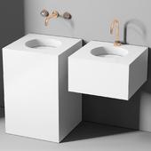 раковина Planit Block basin & Graff Mod plus faucet 2