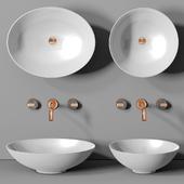 раковина Planit Concave basin & Graff Mod plus faucet 1