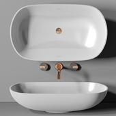 раковина Planit Concave basin & Graff Mod plus faucet 2