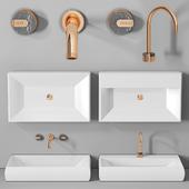 раковина Planit Duna low basin & Graff Mod plus faucet 2