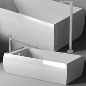 ванна Planit Duna Bath & Graff Phase faucet