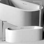 ванна Planit Ooh! Bath & Graff Phase faucet