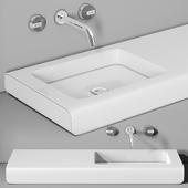раковина Planit Split basin & Graff Mod plus faucet