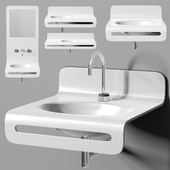 раковина Planit Wave basin & Graff Mod plus faucet