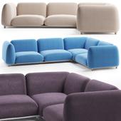 Paola Lenti MELLOW Sofa 3 fabric