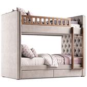RH Chesterfield Bed