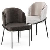 FIL NOIR chair by Minotti