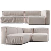 Cleon Modern Medium Sectional Sofa