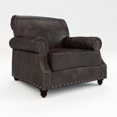 Кресло кожаное Landry