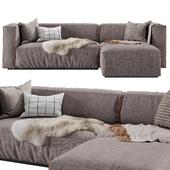 Cleon Modern Medium Sectional Sofa by Blu Dot
