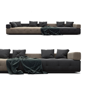 "Sofa Minotti Lawrence ""Clan"""