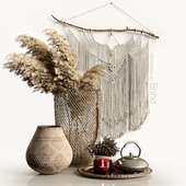 Decorative set Boho
