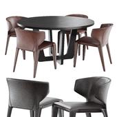 natuzzi clio chair circus table