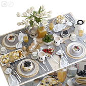 Сервировка стола 38. Завтрак - 5