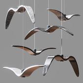Night Birds Brokis Pendant Lamp