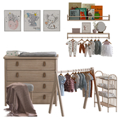 Детская мебель, одежда и аксессуары