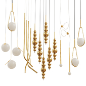 Collection of chandeliers Sara Ferrari;Lampatron;Romatti;Current Collection;ILFARI