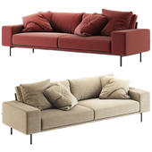 B&T design / Piu Triple Sofa
