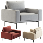 B&T design / Piu Single Sofa