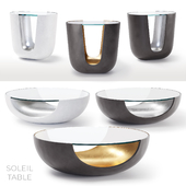 Soleil Tables by Mitchell Gold + Bob Williams