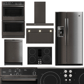 GE Profile 5 Piece Kitchen Appliance