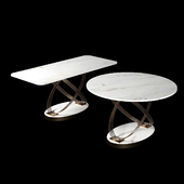 Bontempi Fusion Dining Living Tables Loft Concept