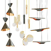 Set of suspended lamps ROMATTl;MAVEN;eperiod-led;Lee Broom;Inodesign