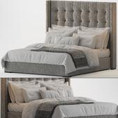 RH Modena Non Tufted Shelter Fabric Platform Bed