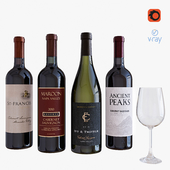 wine bottle set 9