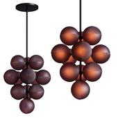 Stellar Grape Pendant by Pulpo