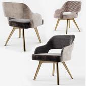 Cantori ADRIA Velvet chair