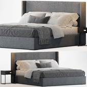 RH Lawson Shelter Nontufted Fabric Bed