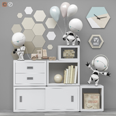 Toys and furniture set 77